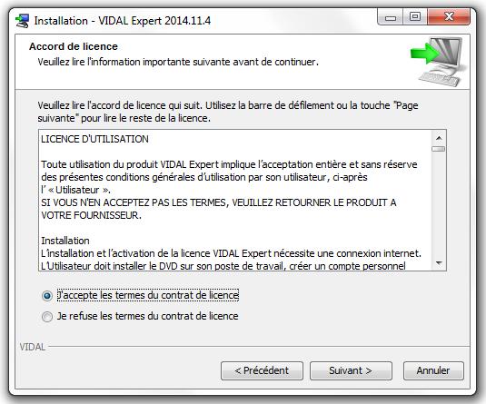 [logiciel]: logiciel VIDAL Expert pour pc gratuit avec activation  - Page 3 Image005